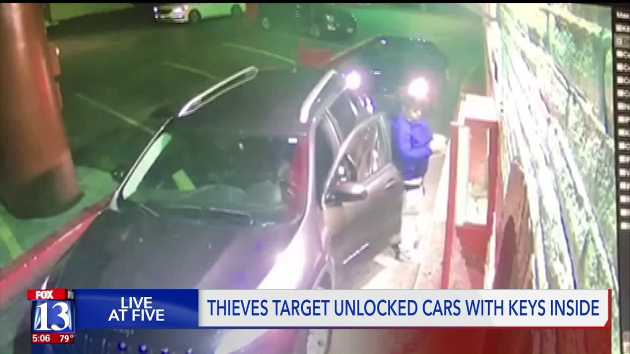 Car thieves target easy opportunities in Pleasant View