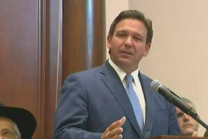 Florida Gov. Ron DeSantis holds news conference in Surfside