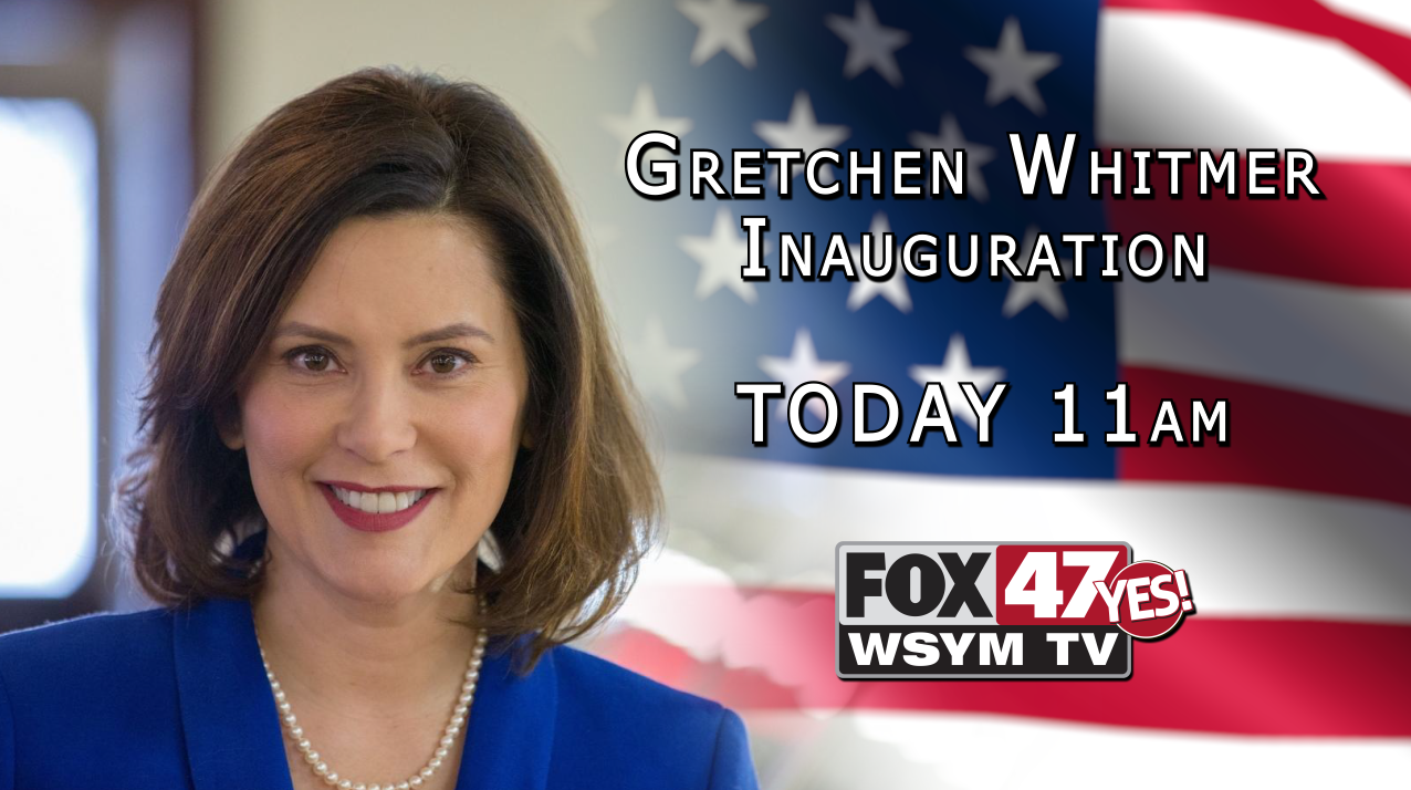 Gretchen Whitmer Inauguration