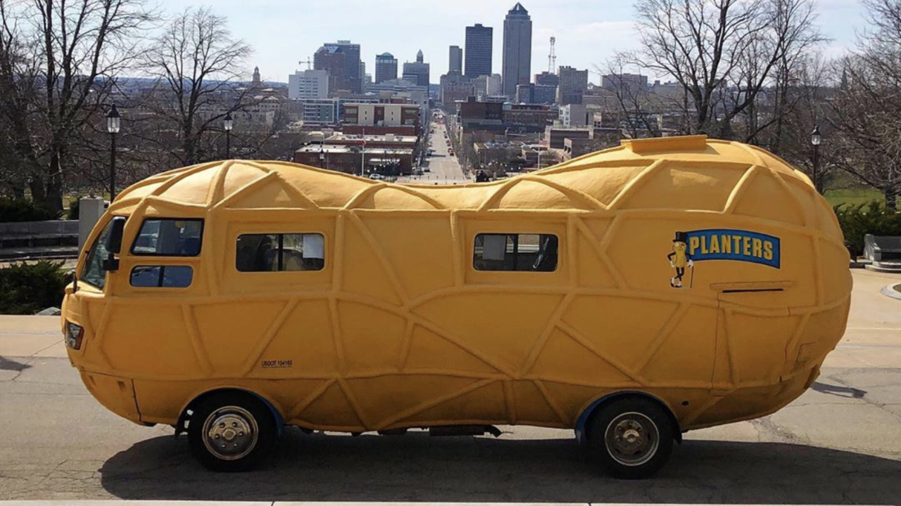 Planters is hiring people to drive its NUTmobile around the U.S.
