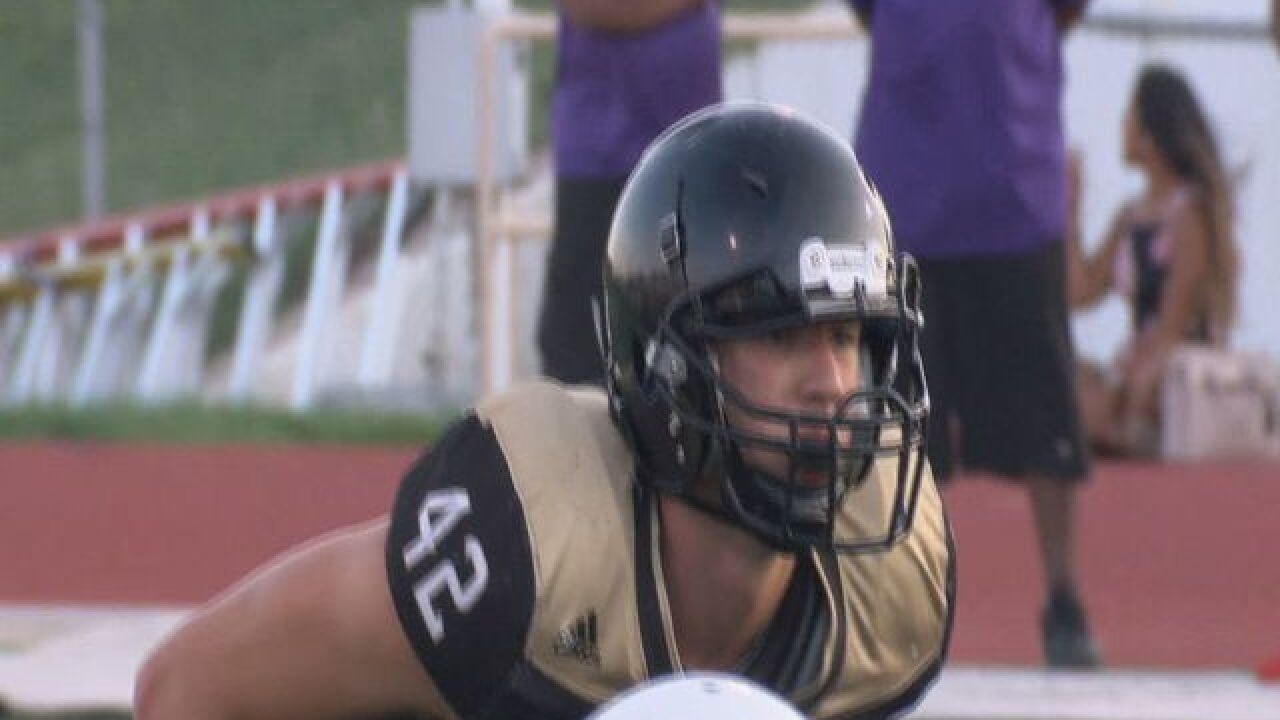 Omaha Burke linebacker Nick Henrich commits to Nebraska