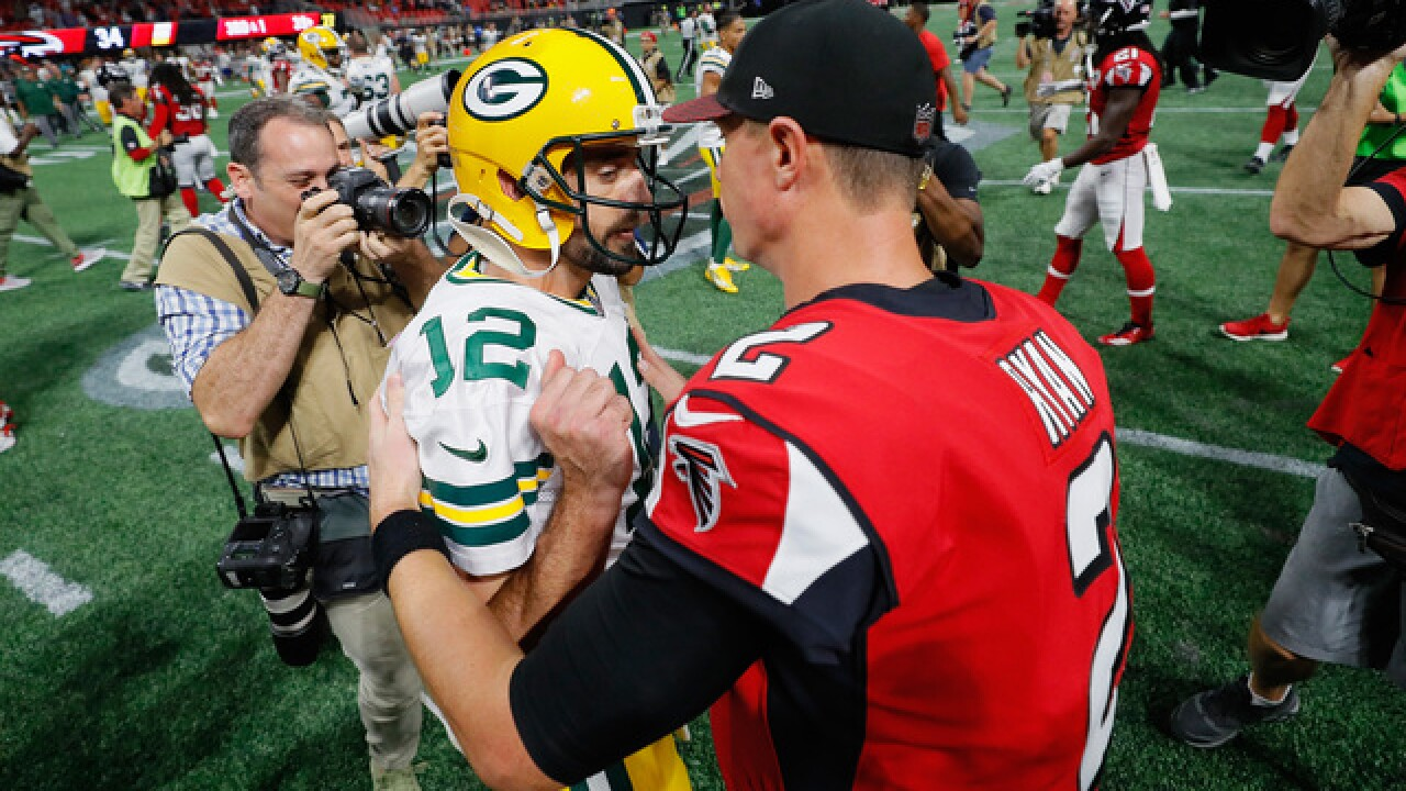 What Atlanta's Matt Ryan's mega deal could mean for Aaron Rodgers