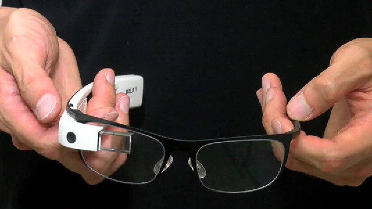 Google Glass being used to help the blind