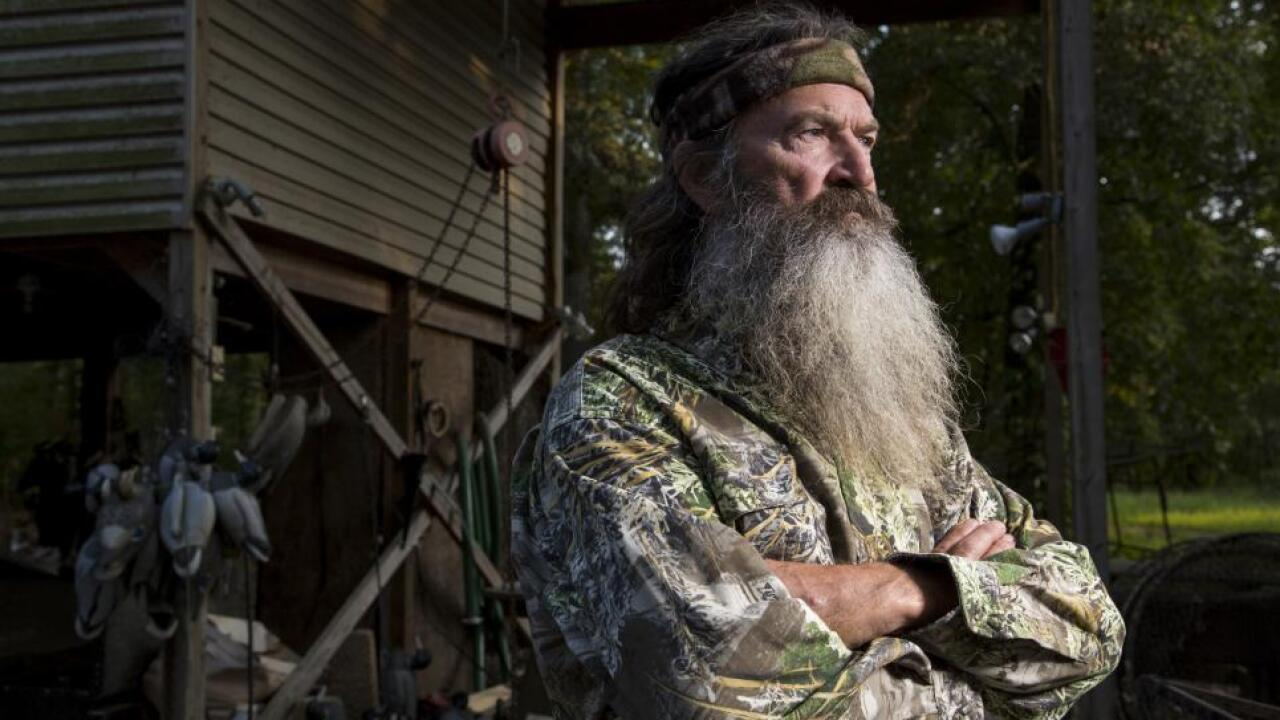 'Duck Dynasty' quacks on as network announces Phil Robertson's return