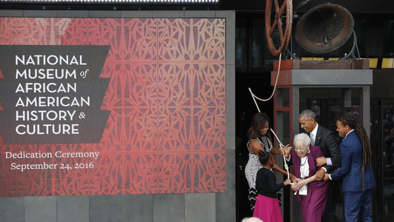 Smithsonian's new African American history museum opens
