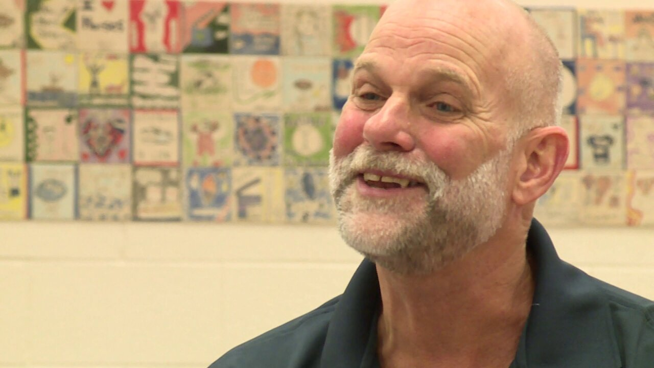How this custodian is spreading smiles at school: 'He understands being a rolemodel'