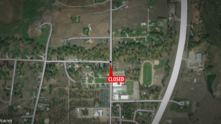 Part of Old Highway 93 closed in Florence