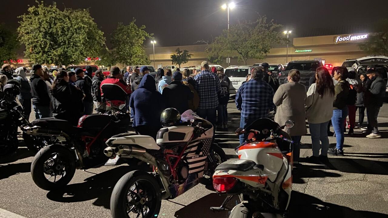 Motorcyclist vigil October 11, 2021