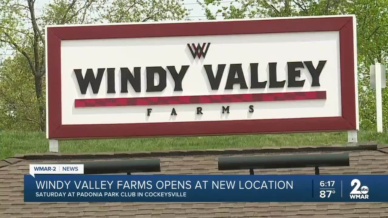 Windy Valley Farms opens this Saturday at a new location in Cockeysville.jpg