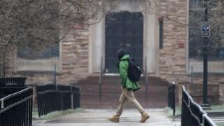 CU Boulder_student walking