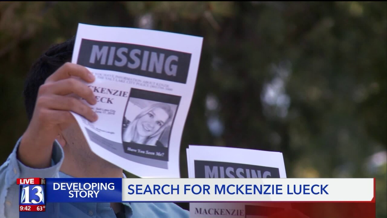 Search continues for U of U student Mackenzie Lueck