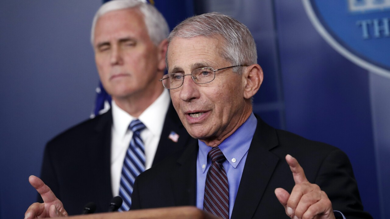 White House blocking Fauci testimony, panel spokesman says