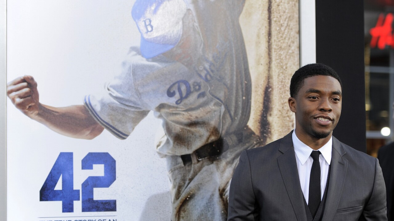 AMC, Cinemark, others to re-release Boseman's movie '42' in honor of late actor