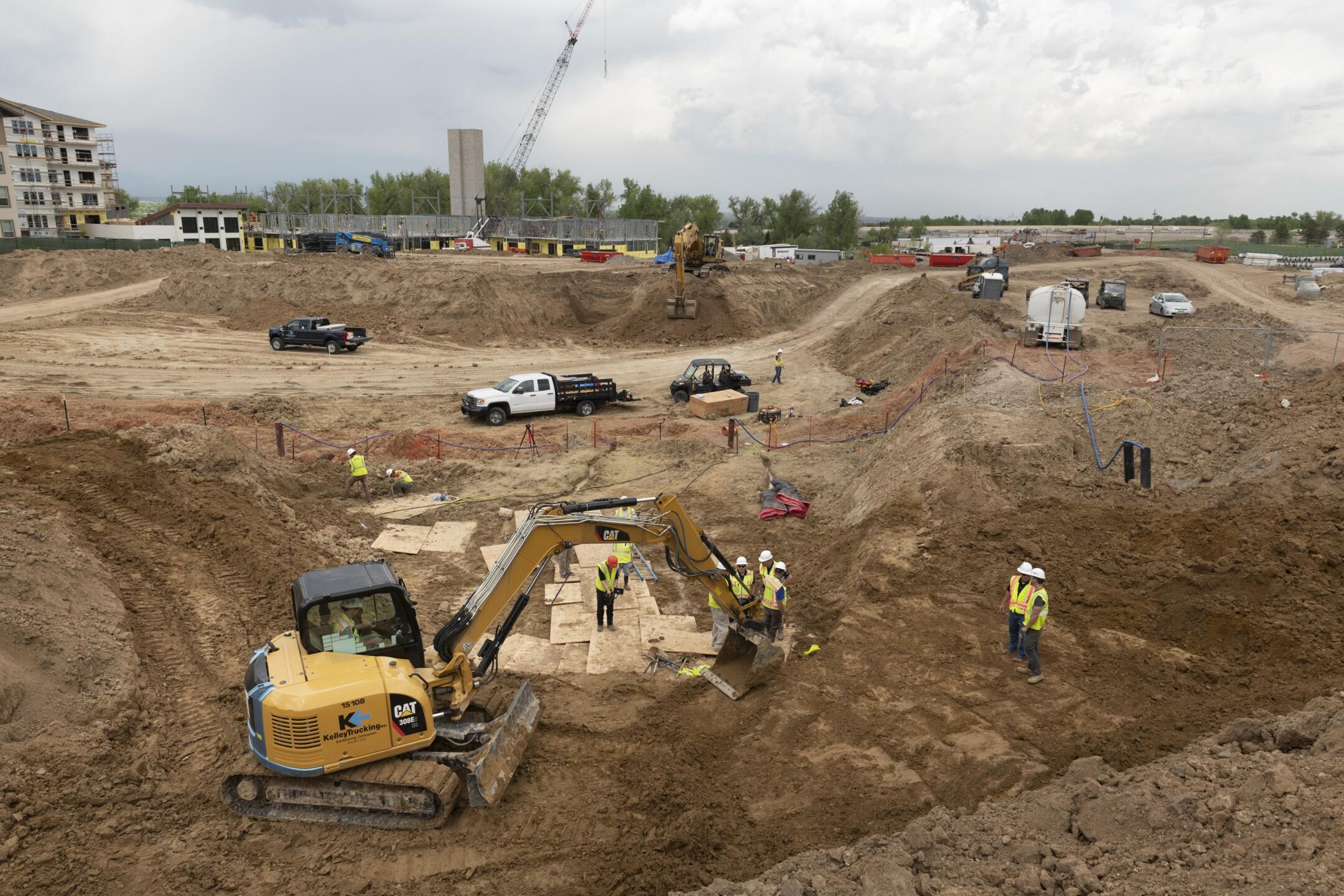 Highlands Ranch dino excavation 5
