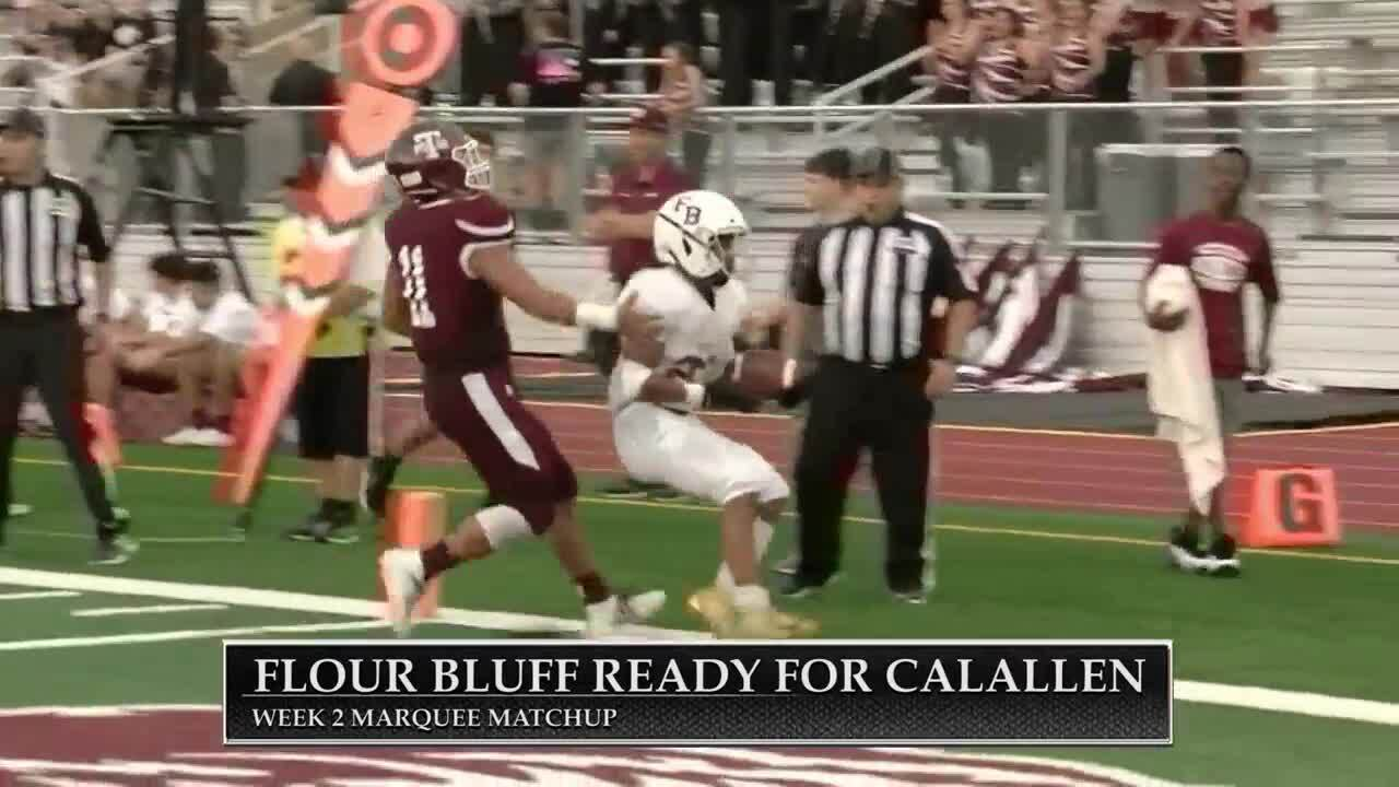 Flour Bluff vs. Calallen in this week's Marquee Matchup