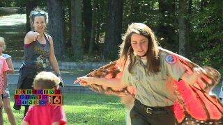 Rangers help kids spread their wings at Pocahontas StatePark