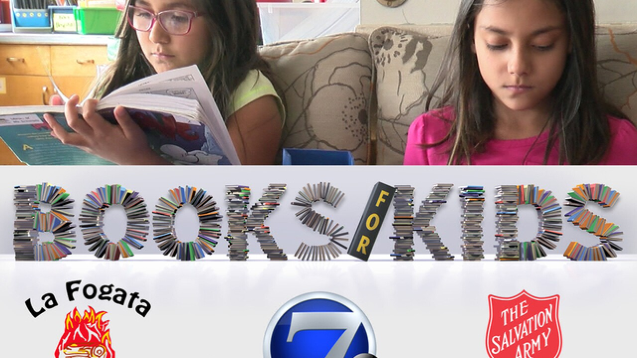 Book drive helps Colorado kids get summer reads