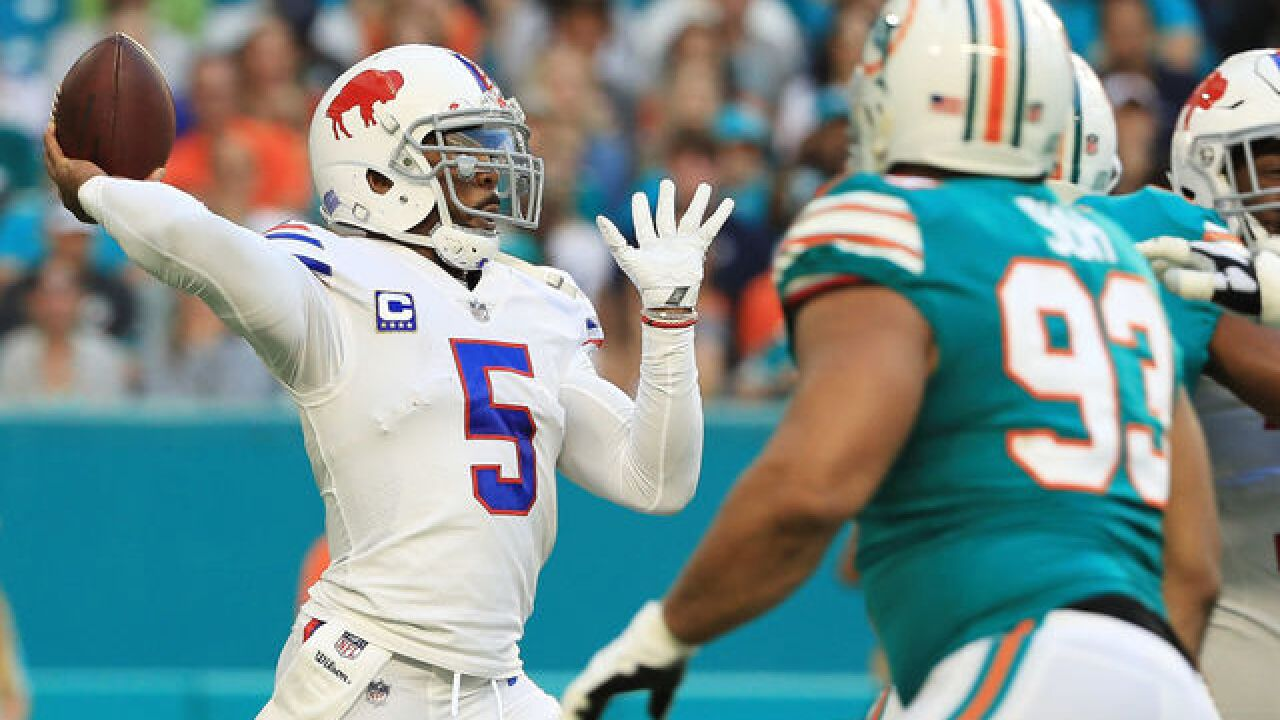 Report: Buffalo Bills haven't ruled out keeping Tyrod Taylor past March 16
