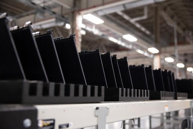 A rare look inside Tesla's Gigafactory 2 in Buffalo