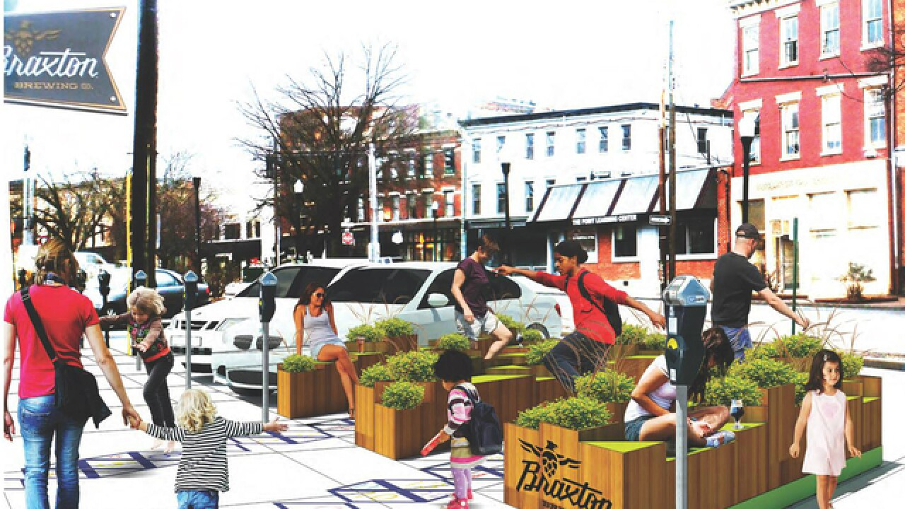 Covington is turning parking spaces into parks