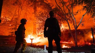 5 of California's 10 largest wildfires ever are still burning