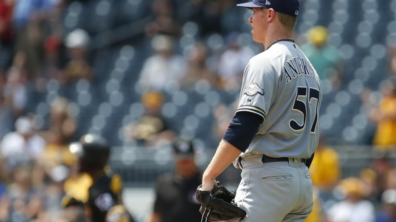 Brewers drop 5th game in a row, 4th against Pirates, 6-2