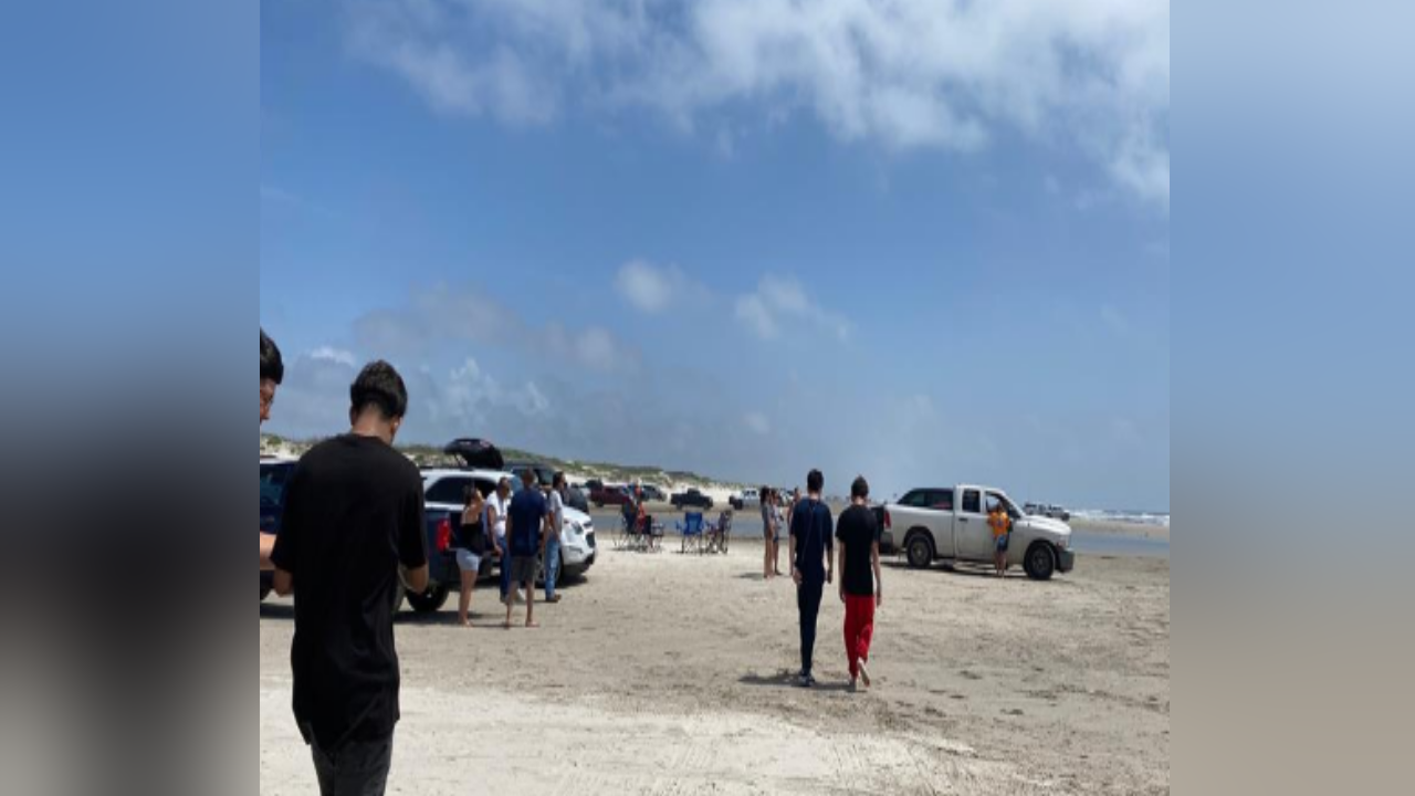 Beach search for missing Padre Island swimmer