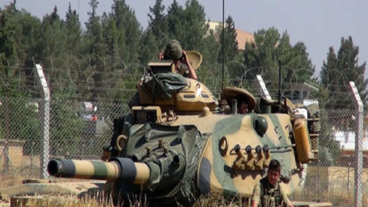 Turkey says ISIS has lost all territory along Syria-Turkey border