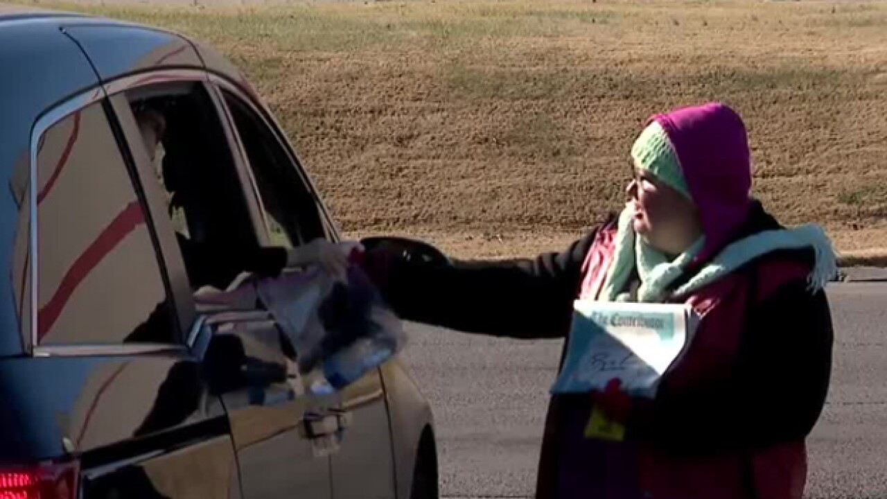 Group Makes Cold Weather Kits For The Needy