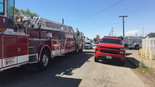 Bakersfield Fire Department Vehicles (FILE)