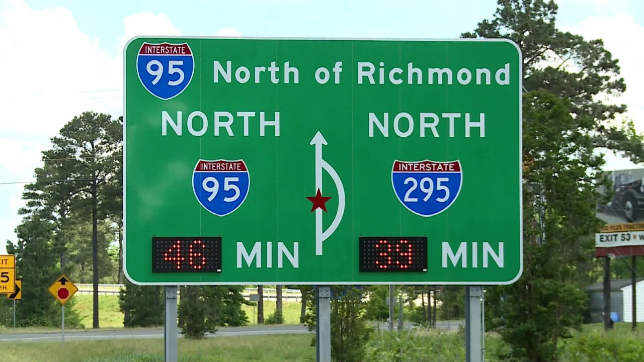 Despite recent changes, I-95 sign still confusing drivers: 'It hasn't changed much at all'