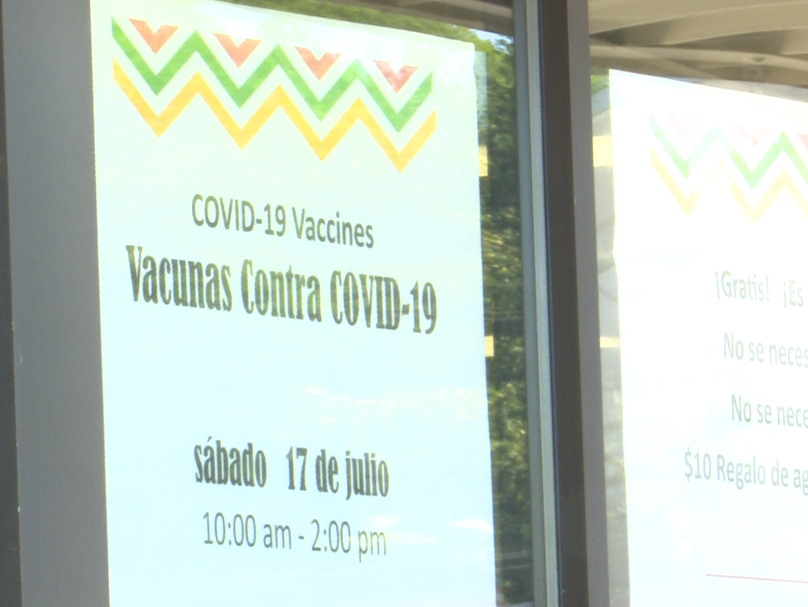 Calumet County vaccination clinic hoping to reach the area Latino community