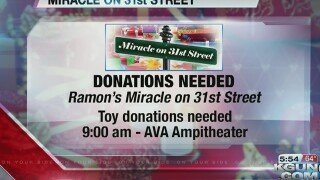 More toys needed for Ramon's Miracle on 31st St.