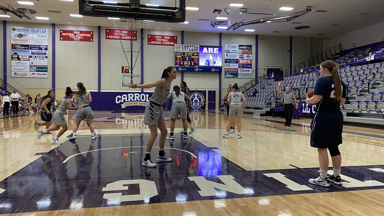 Carroll Men and Women down Dickinson State in first home game of season