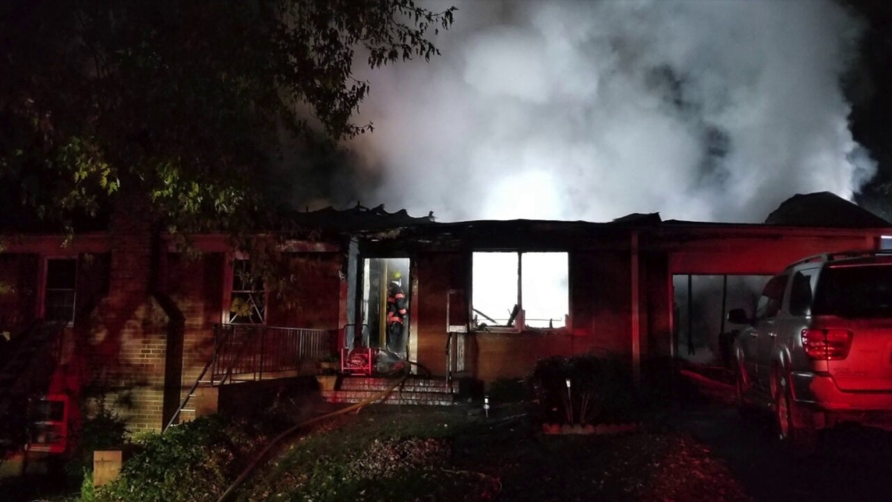 4 hospitalized after Hanover County housefire