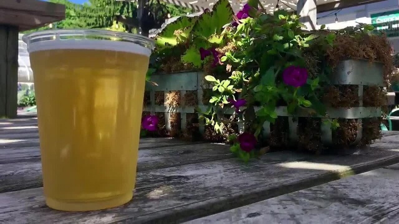 IMA beer garden extends through summer