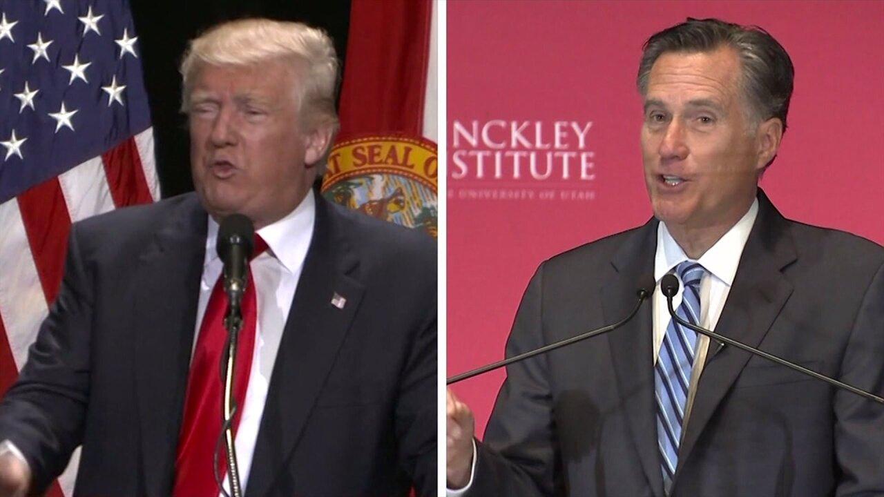 'I won big, and he didn't': President Trump responds to Mitt Romney opinionpiece