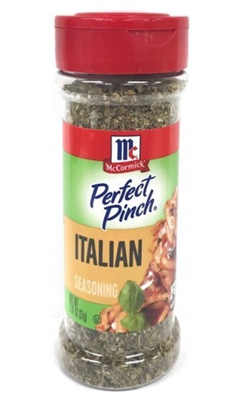 Perfect Pinch Italian Seasoning 1-31oz Front