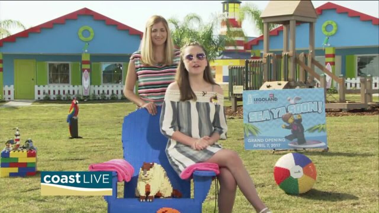 A live report from Legoland in Florida on Coast Live