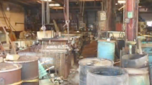 Madison Heights plating plant_green ooze_inside