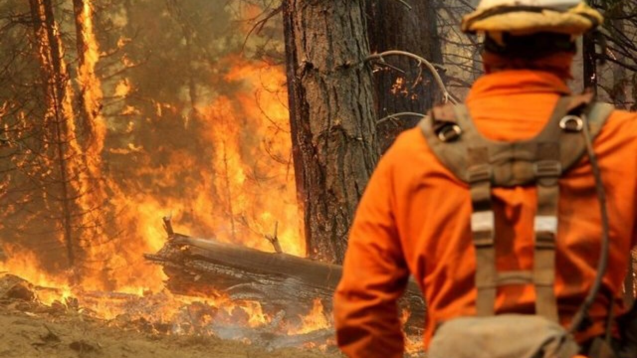 California fire explodes in size, is now largest in state history
