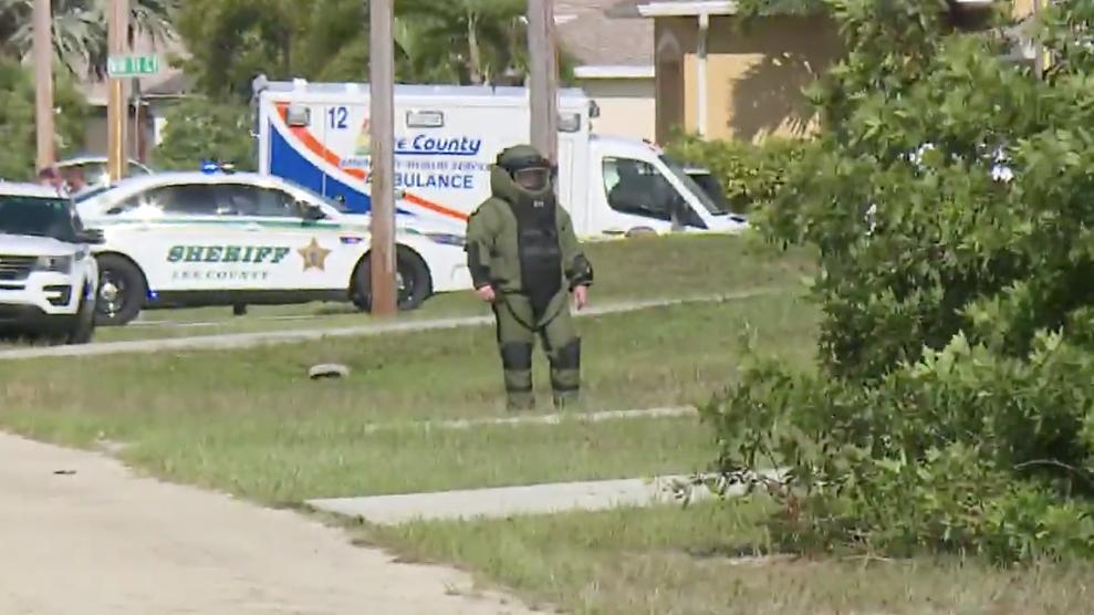 Bomb squad investigates home in Cape Coral