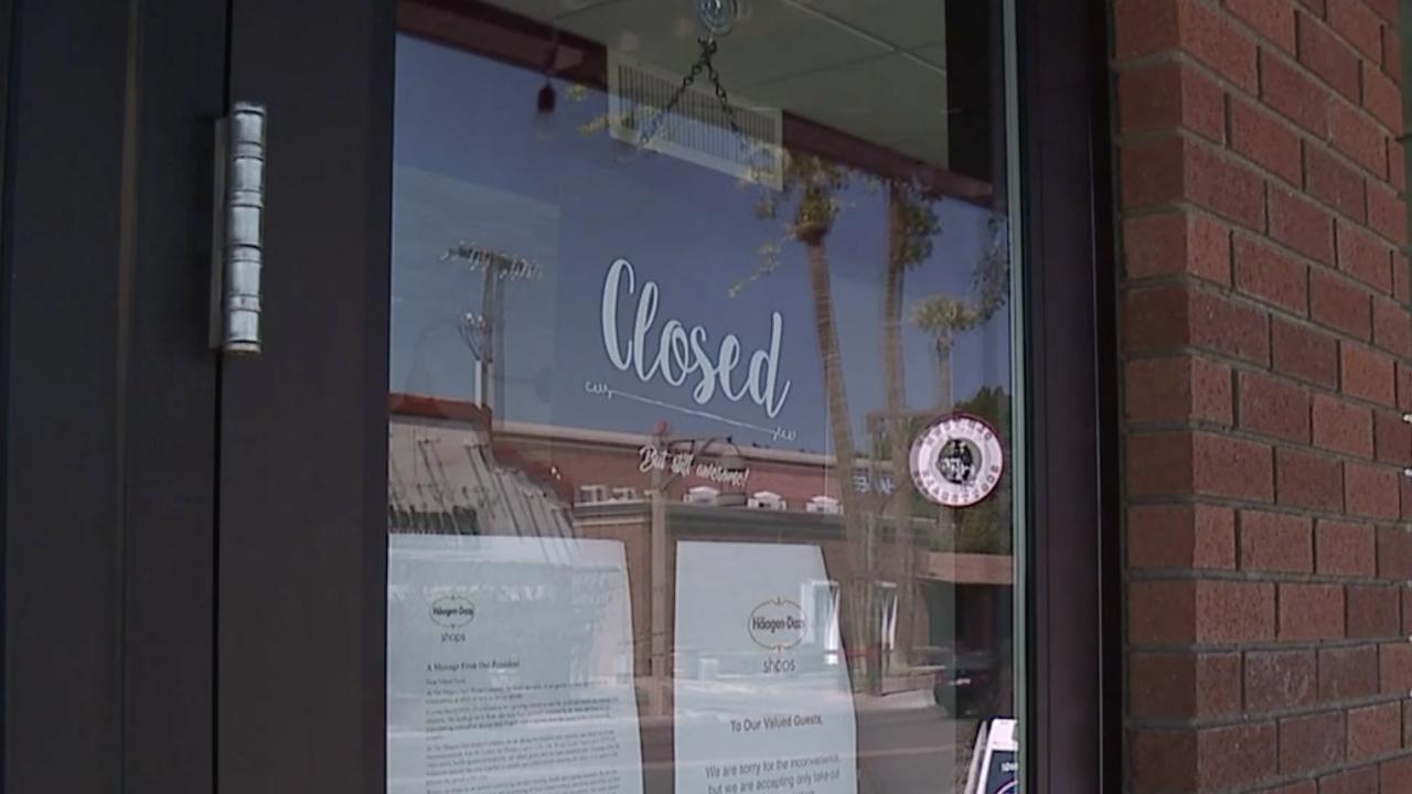 Small businesses closed in Arizona