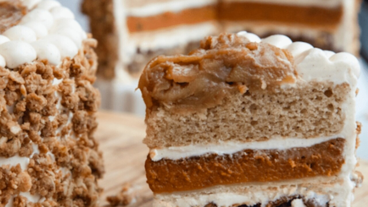 PieCaken is the ultimate Thanksgiving dessert