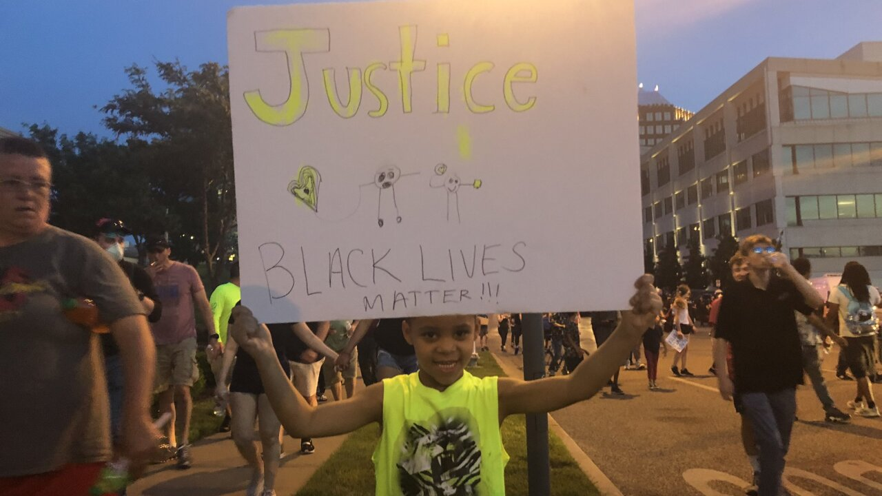 Cute boy at Black Lives Matter plaza protests 2020.jpeg