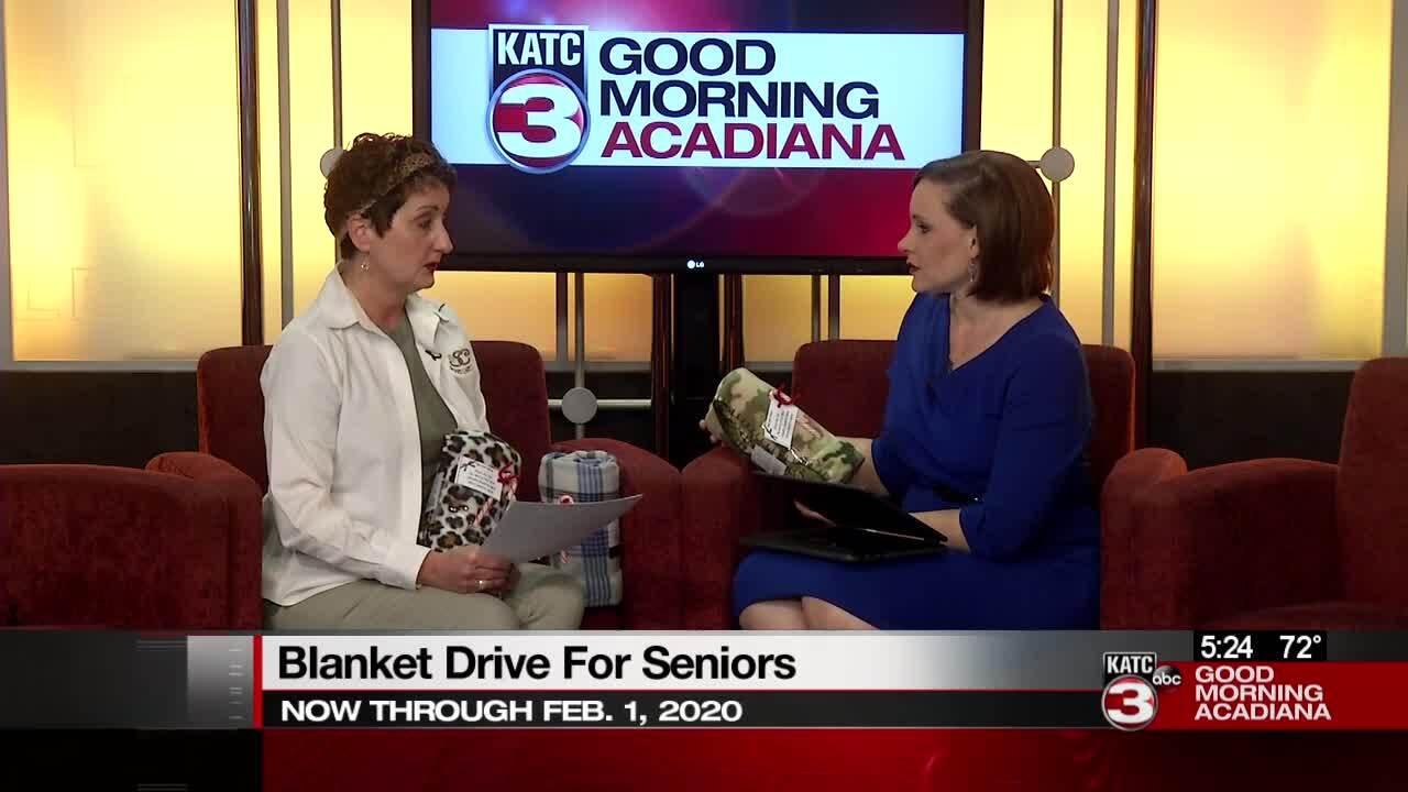 Seniors blanket drive