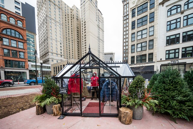 Eat, shop and play at the Downtown Detroit Winter Market