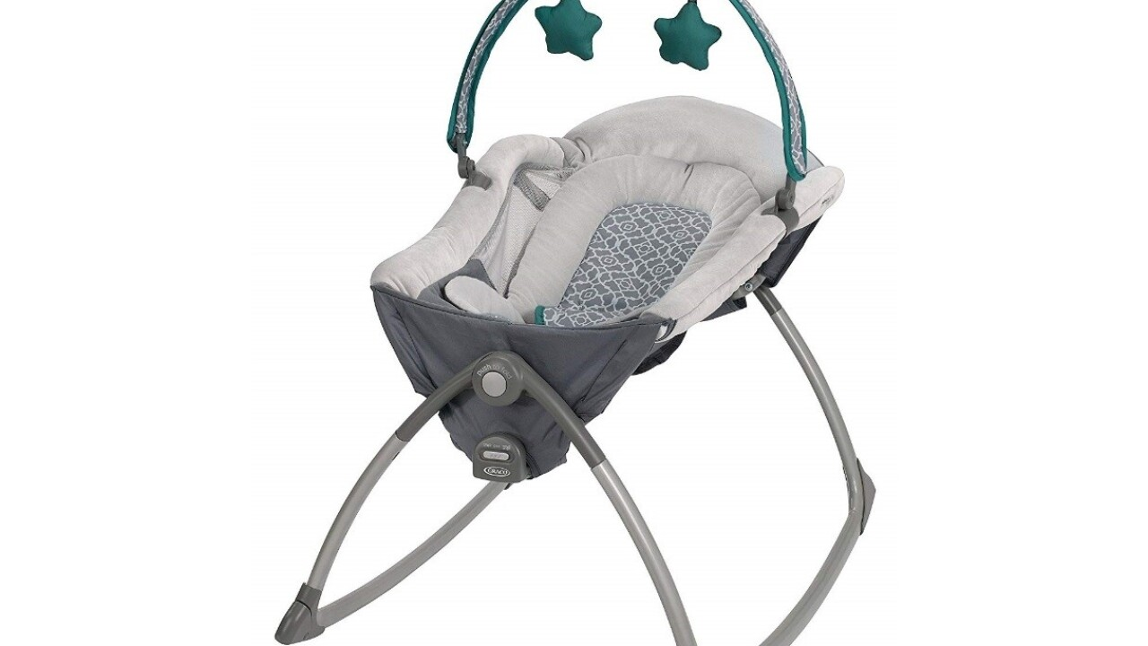Graco recalls 111,000 'Little Lounger Rocking Seats' over suffocation risk