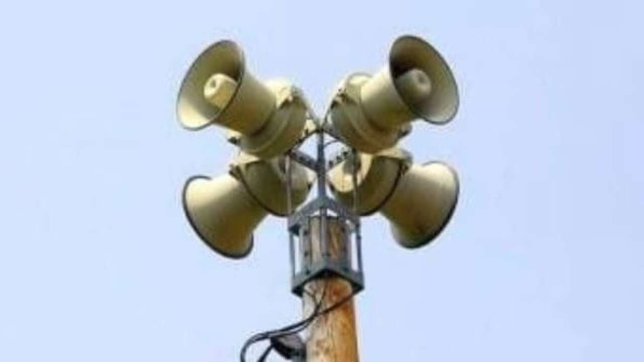 Early Warning System sirens to go off Tuesday, part of regularly-scheduled test