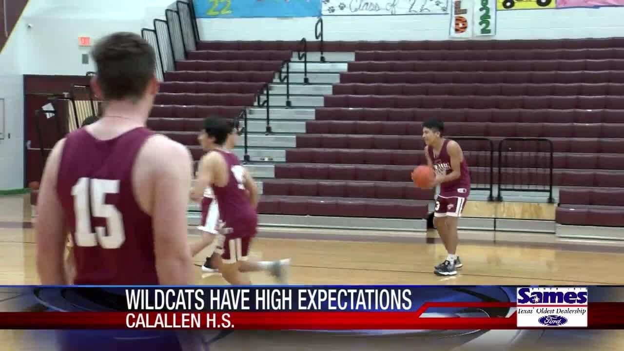 Calallen boys basketball